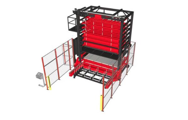 AS L-UL Auto Storage per Laser ad ottica volante