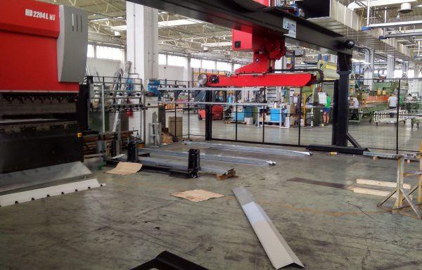 Robot cartesiano APR 120 kg 9 metri anno 2016